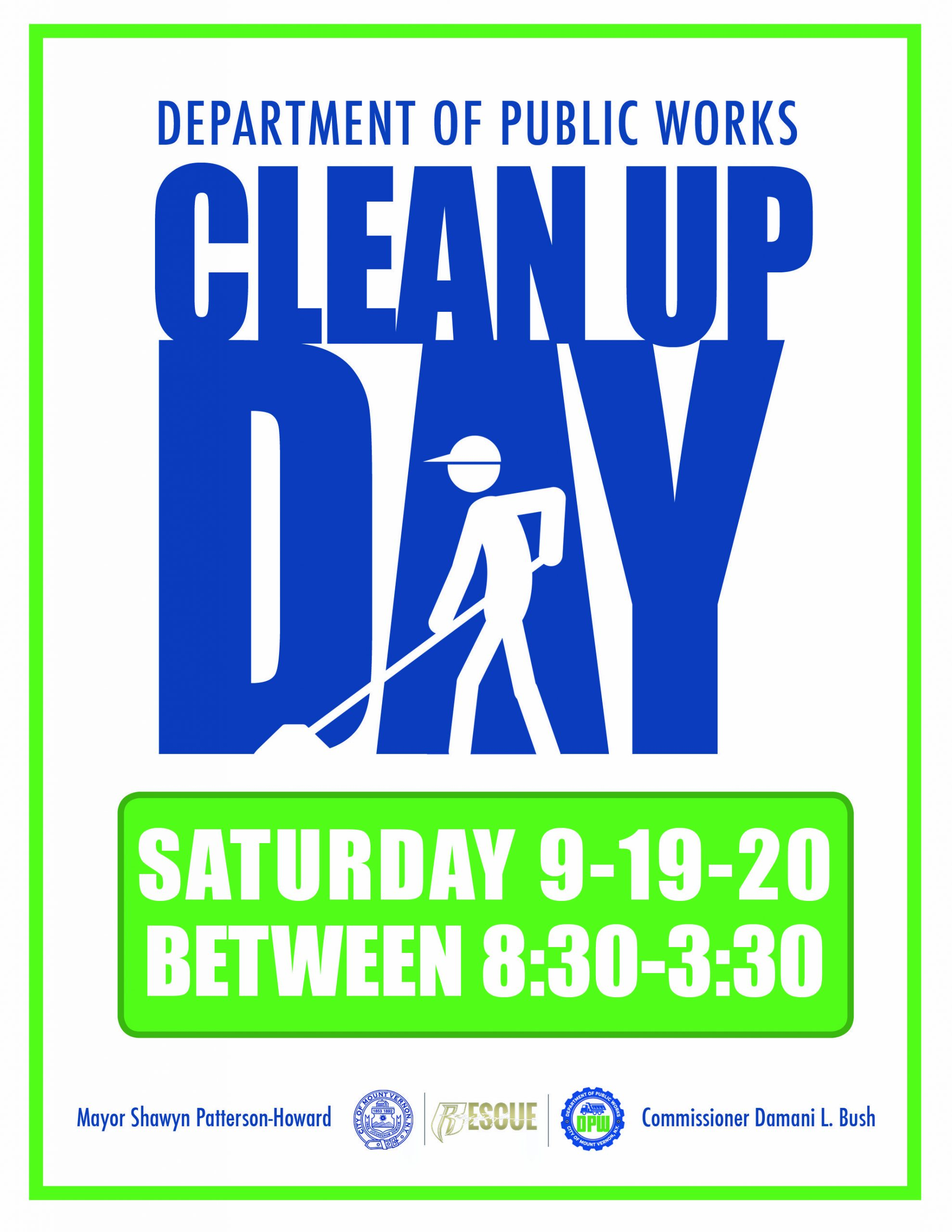 Mt. Vernon, NY Clean-Up Day